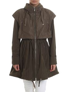 Diego M - Hooded parka in army green