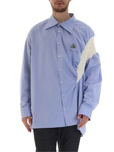Vivienne Westwood  - Businnes oversized shirt in light blue