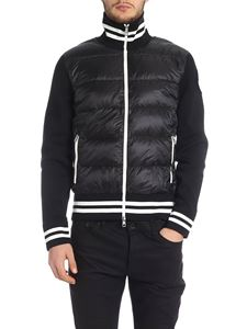Moncler - Down padded cardigan in black