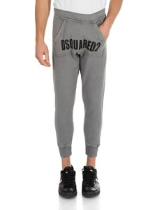 Dsquared2 - Grey sweatpants with Dsquared2 print