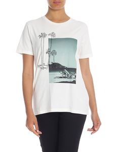 Paul Smith - Paul's Photo printed t-shirt in cream color