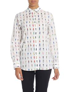 Paul Smith - Camicia bianca stampa People