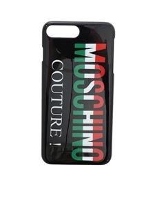 Moschino - IPhone 7/8 Plus black cover Moschino Couture