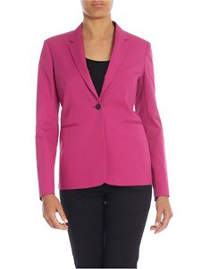 Paul Smith - Pure cotton jacket in cyclamen color