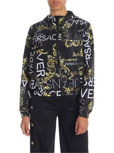 Versace Jeans - Black reversible jacket with Baroque print