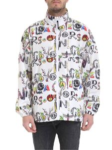 Versus Versace - White jacket with multicolor print