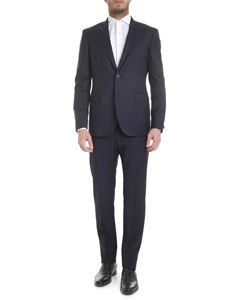 Tonello - Blue pinstripe virgin wool suit