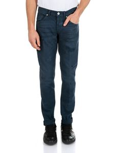 Dondup - George trousers in blue cotton