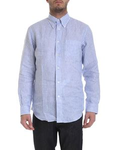 Brooks Brothers - Striped shirt in blue and white
