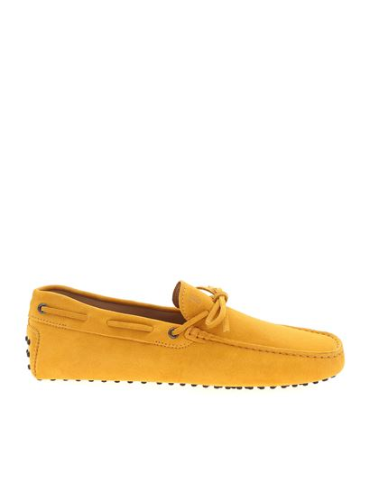 Carrie Over loafer in mustard yellow