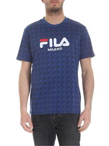 Fila - Blue monogram T-shirt