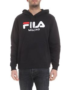 Fila - Black sweatshirt with Fila embroidery