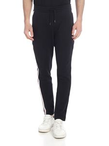Fila - Black stretch cotton trousers