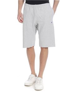Champion - Grey shorts with Champion patch