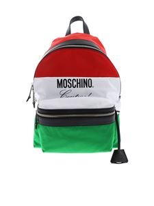 Moschino - Moschino flag backpack