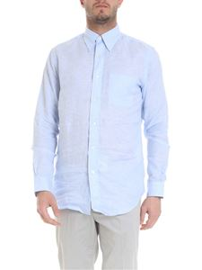 Brooks Brothers - Linen button down shirt in light blue