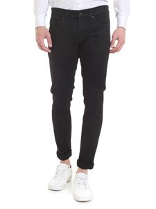 Dondup - Jeans George in cotone organico stretch nero