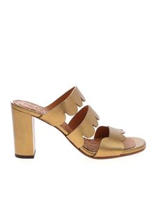 Chie Mihara - Barista sandals in gold color