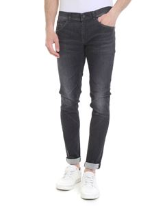 Dondup - George jeans in black stretch organic cotton