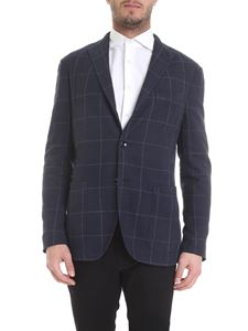 Boglioli - Two-buttons jacket in blue and black