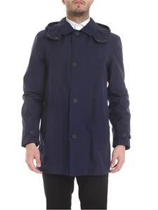 Woolrich - Dh Carcoat jacket in blue