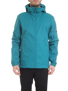 The North Face - Jacket in emerald green with logo print