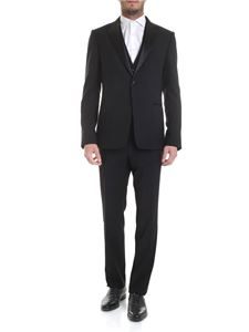 Z Zegna - Cotton suit in black