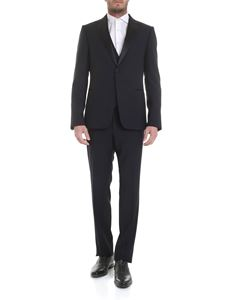 Z Zegna - Cotton suit in dark blue