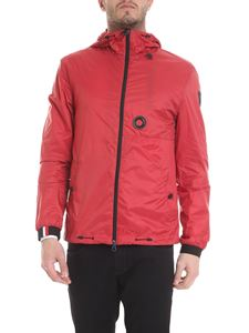 Rossignol - Jacket in red with logo on the sleeve