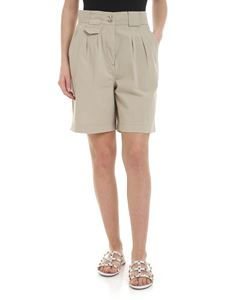 Etro - Beige shorts with pleats