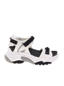 Ash - Adapt sandals in white technical fabric