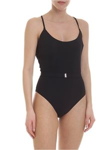 Ermanno Scervino - Black swimsuit with strap