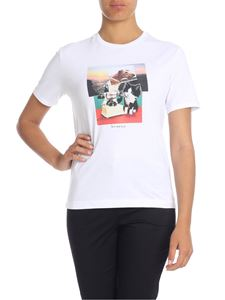 Paul Smith - T-shirt stampa Dog And Bone bianca