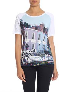 Paul Smith - T-shirt in white with Dalmatian Spot print