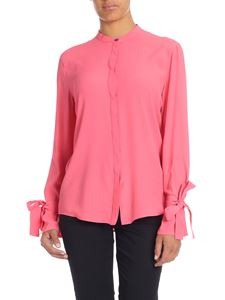 Paul Smith - Shirt in fuchsia with ribbons