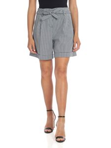 Paul Smith - Shorts con motivo a quadri blu
