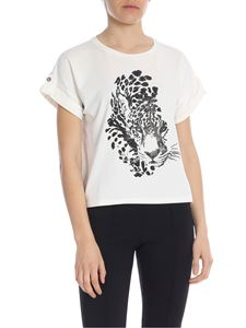 Liujo - Boxy T-shirt with animal print