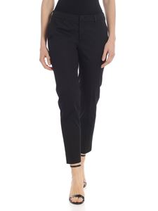 PT01 Woman Pants - Stretch chino trousers in black