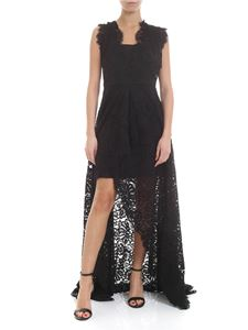 Liujo - Flower lace dress in black