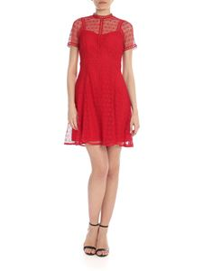 Michael Kors - Red lace dress