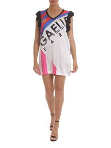 Gaelle Paris - Sleeveless multicolor dress with logo