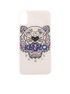 Kenzo - Cover Tiger bianca per IPhone X/XS