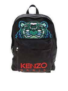 Kenzo - Tiger large backpack in black