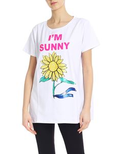 Blugirl - I'm Sunny oversized t-shirt in white