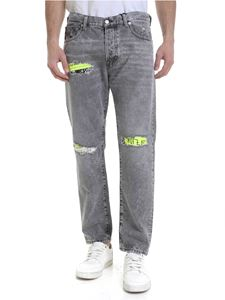Diesel - Jeans Dxf-mharky in cotone grigio