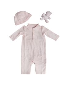POLO Ralph Lauren - Pink cotton baby set