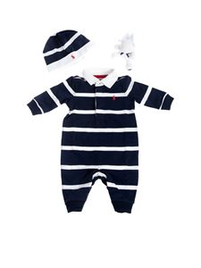 Ralph Lauren - Set in blue and white stripes