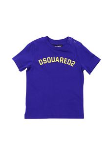 Dsquared2 - Blue T-shirt with Dsquared2 print