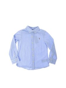 POLO Ralph Lauren - Striped shirt in light blue and white