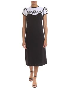 Gaelle Paris - Black and white cotton dress